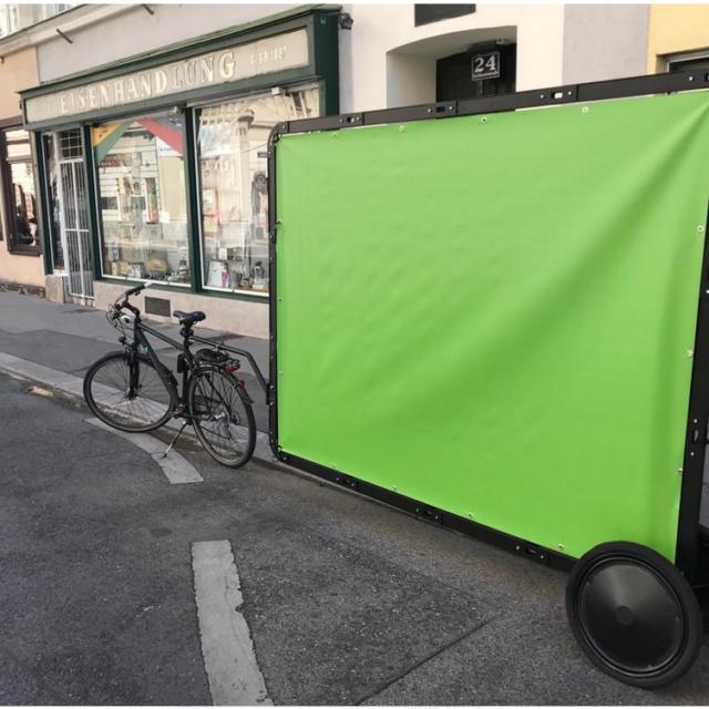 Promotion mit AdBike in Wien