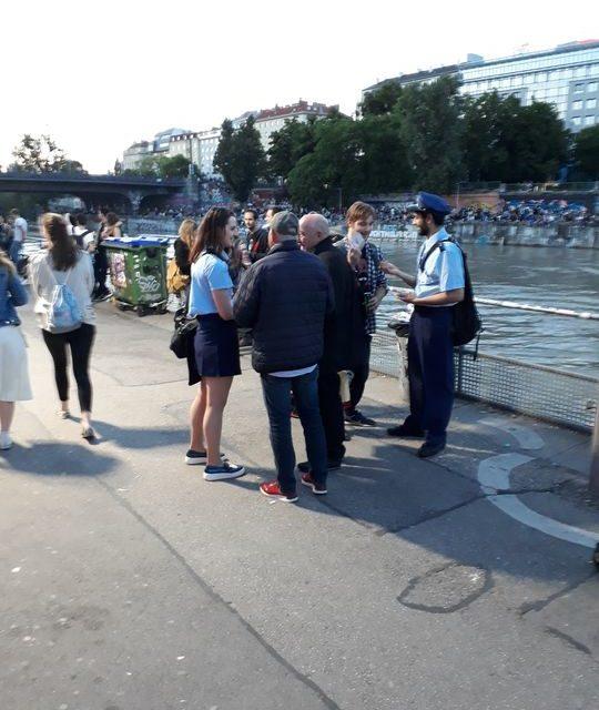 Verteilung – Donaukanaltreiben